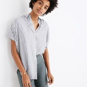 Madewell Stripe Central Shirt.